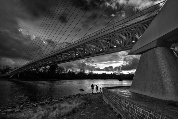 Sundial Bridge, Redding CA.